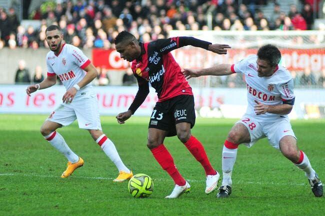 Guingamp fait tomber Monaco