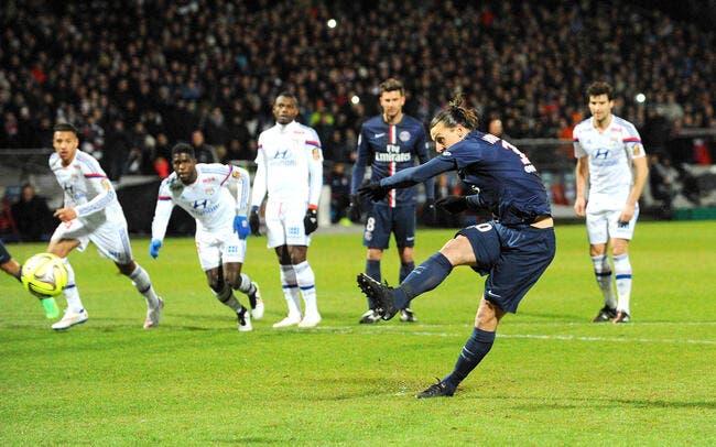 Ibrahimovic applaudit l'arbitre sur le penalty