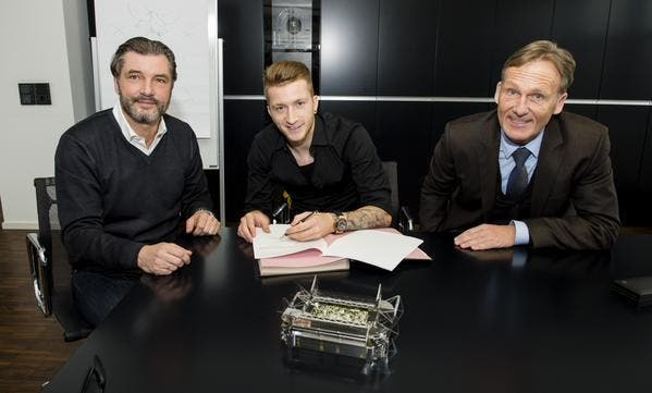Reus prolonge à Dortmund jusqu'en 2019