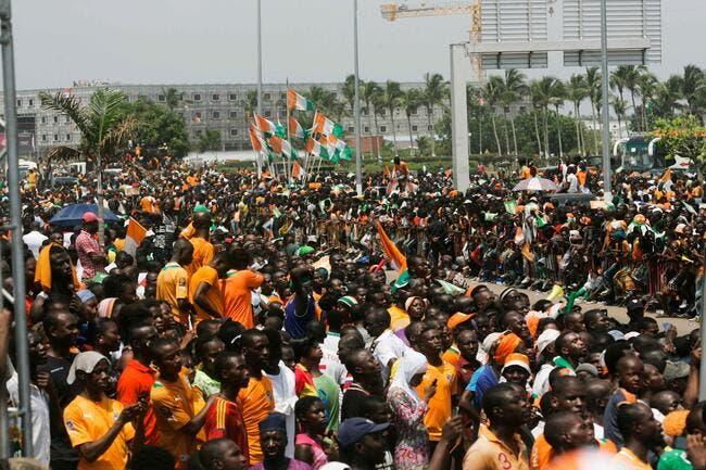 Vidéo : Un million de personnes à Abidjan pour les vainqueurs de la CAN