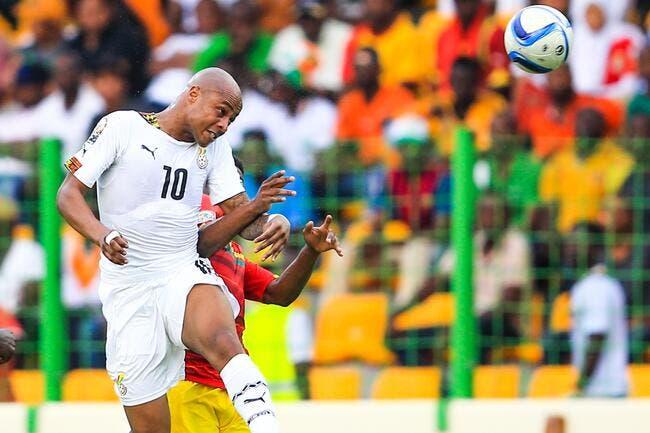 A. Ayew s'excuse « auprès de tous les Ghanéens »
