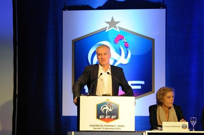 Didier Deschamps, patron des Bleus jusqu'en 2018