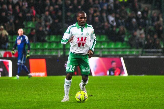 Avec l'ASSE, Nguemo est prêt à récidiver contre Bordeaux