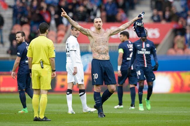 Ibrahimovic privé de Monaco-PSG pour son expo de tatouages
