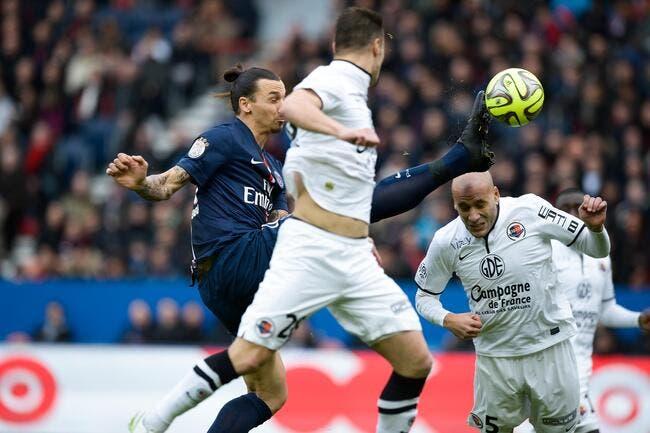 Le PSG vit un cauchemar contre Caen