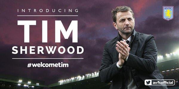 Tim Sherwood nouvel entraîneur d'Aston Villa