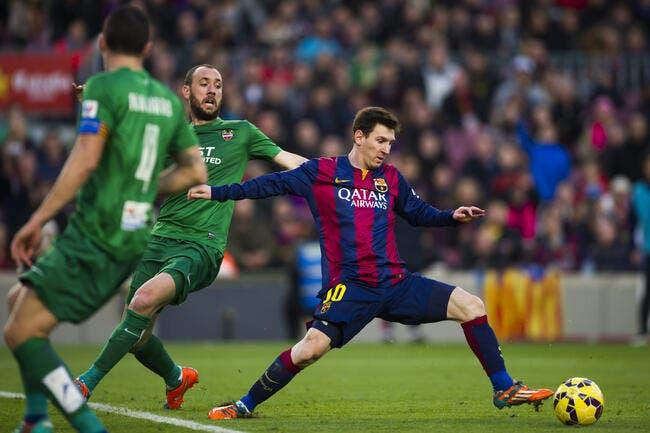 Barcelone – Levante 5-0