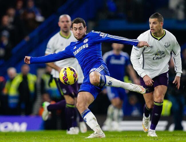 PSG-Chelsea : Hazard refuse l'étiquette de favori