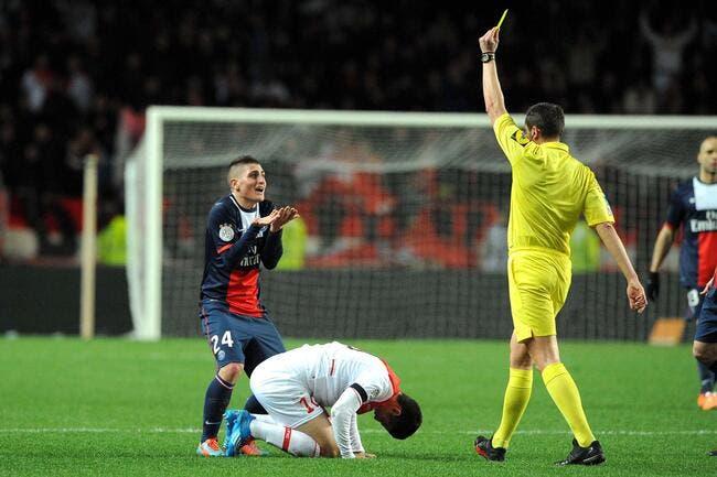 Verratti découvre les arbitres «qui crient» en France