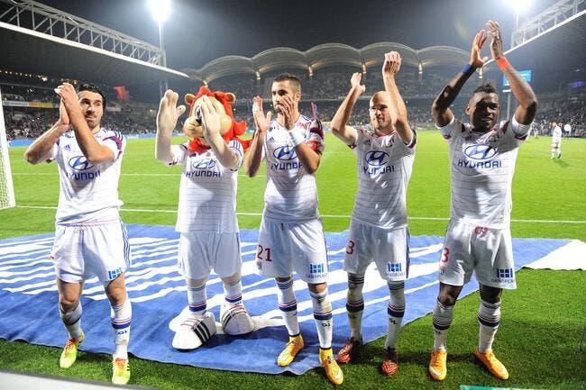 Trois joueurs de l'OL sous la menace contre Nantes
