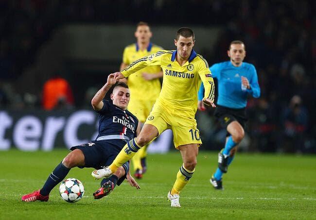 Le plan anti-Hazard du PSG fait hurler en Angleterre