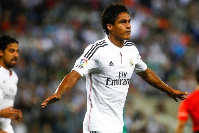 Varane se contente de son rôle de doublure au Real Madrid