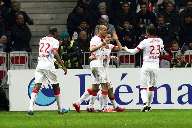 A 10 et à Nice, Monaco prend sa revanche