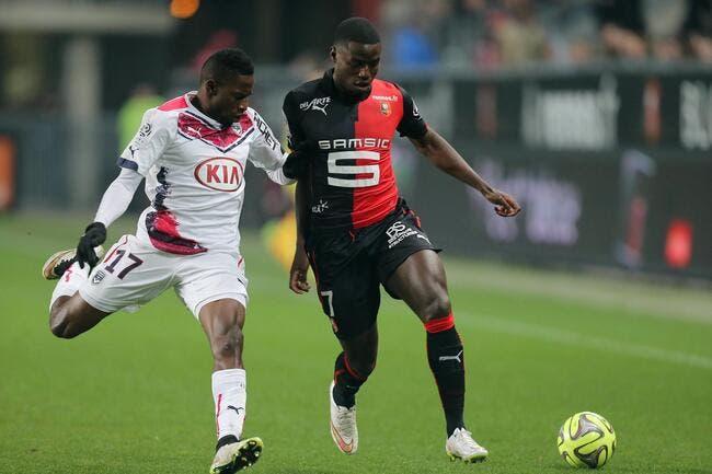 Bordeaux vole un point à Rennes, Caen et Bastia enchaînent