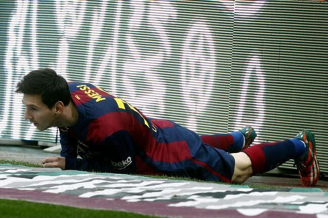 Le Barça refuse de tout mettre sur le dos de Messi