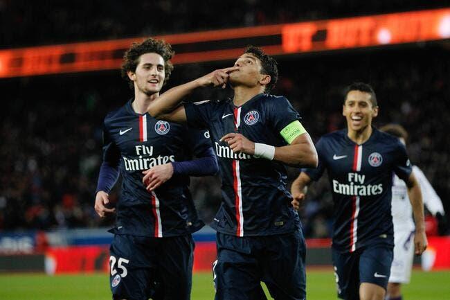 Thiago Silva rend un formidable hommage à Laurent Blanc