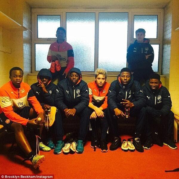 Brooklyn Beckham poussé vers la sortie par Arsenal