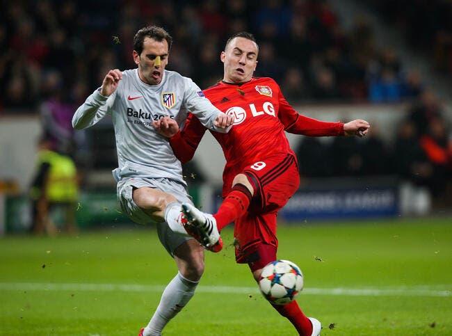 Leverkusen - Atlético Madrid : 1-0