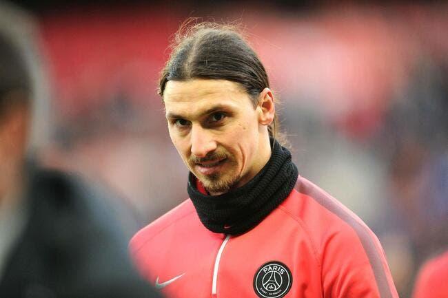 Ibrahimovic grille Cavani au PSG