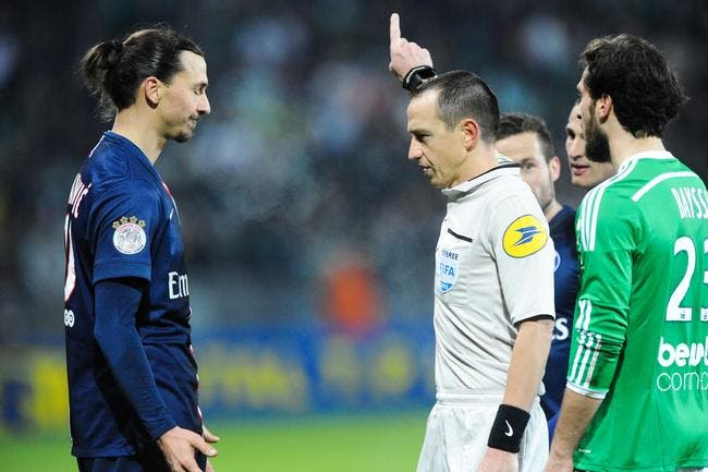 Ibrahimovic va finir par casser une jambe dénonce une légende de l'ASSE