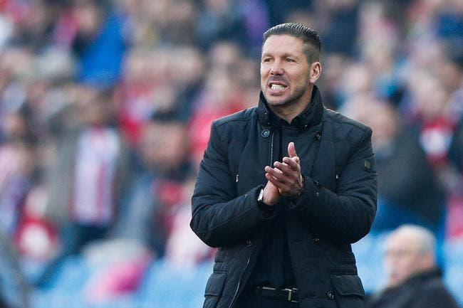 L'Atlético Madrid discute pour éloigner Simeone du PSG