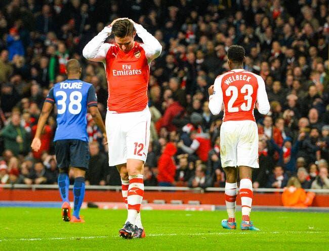 Après la prime, Giroud découvre la déprime de match...