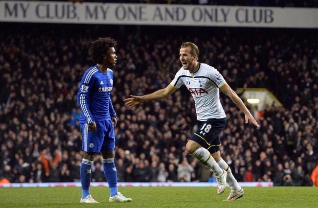 Vidéo : Kane a fait craquer Cahill devant Mourinho