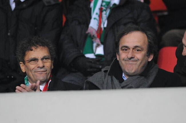 Platini dit bravo à l'ASSE pour Geoffroy-Guichard