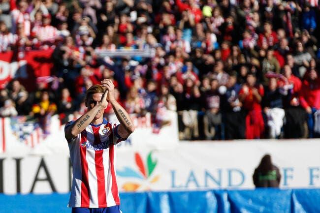 Vidéo : L'énorme accueil de l'Atlético pour F. Torres
