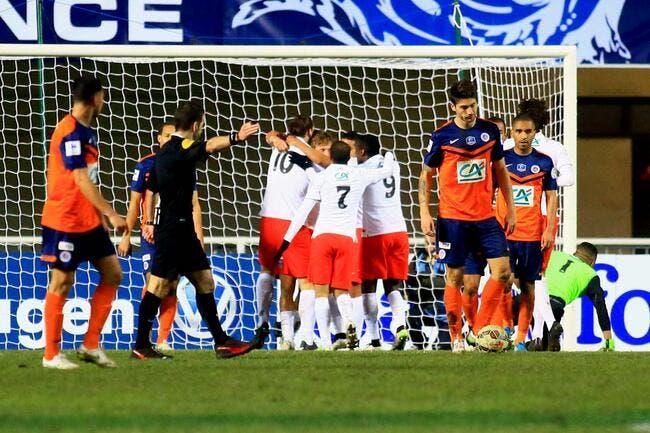 Le PSG avait la coupe à coeur à Montpellier