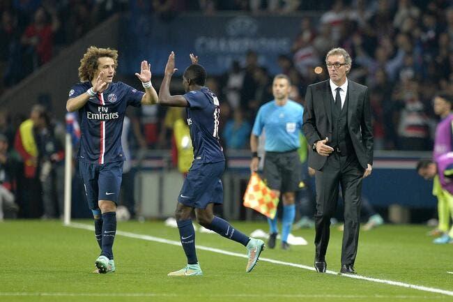 David Luiz déclare sa flamme à Matuidi au PSG