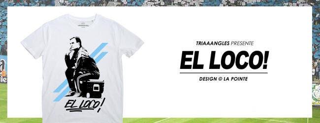 Remise en vente du tee-shirt Bielsa malgré les menaces de l'OM