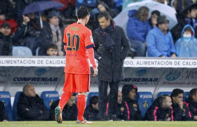 Un clash entre Messi et Enrique au Barça ?