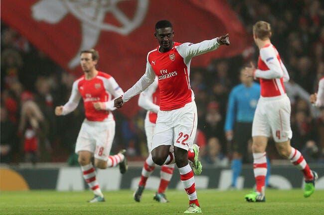 Bordeaux lance un ultimatum à Arsenal pour Sanogo