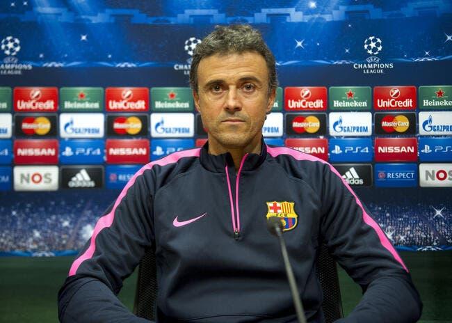 Luis Enrique éteint l'incendie au Barça