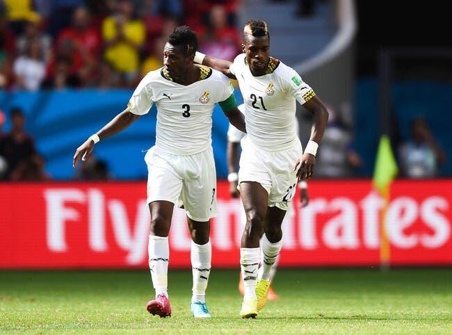 Les 23 Ghanéens pour la CAN