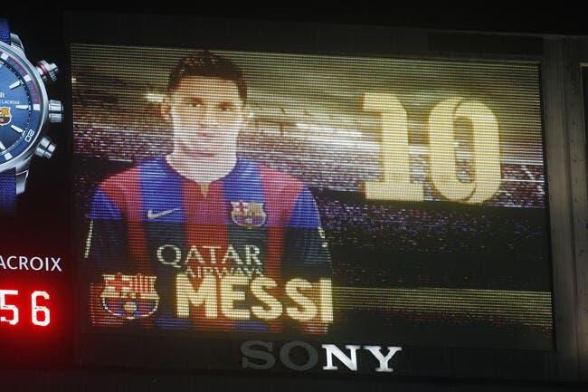 S'offrir Messi, c'est 640 ME TTC