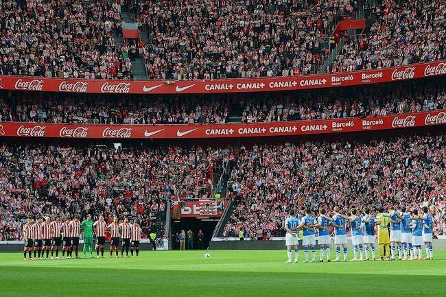 Une minute de silence en hommage aux victimes en Liga