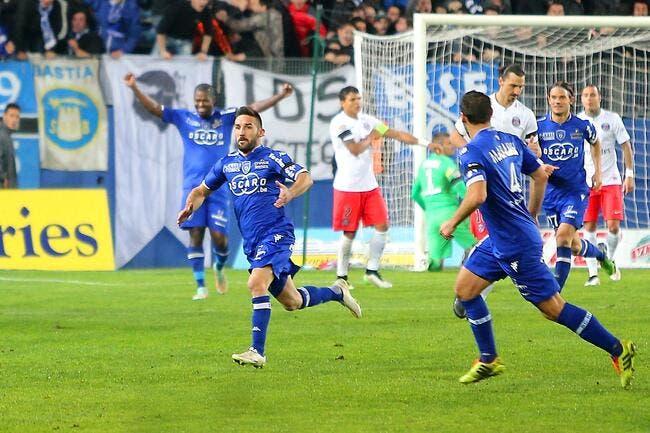 Le PSG totalement renversé par Bastia !