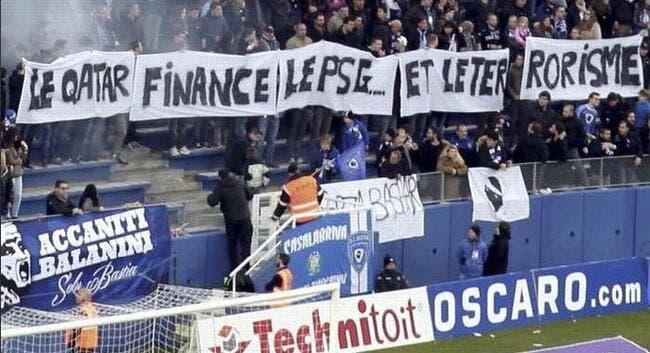 Le PSG demande un rapport pour la banderole à Bastia