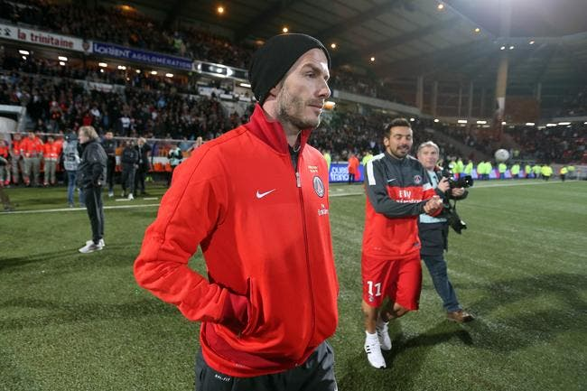 Mister Beckham demeure confiant pour le PSG