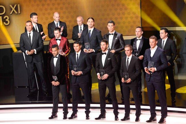Ballon d'Or et récompenses, la liste des nominés