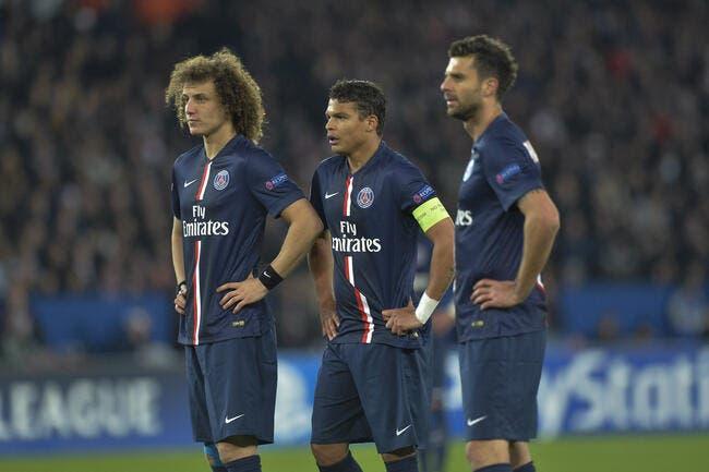 Le PSG prive David Luiz et Thiago Silva de Ballon d'Or