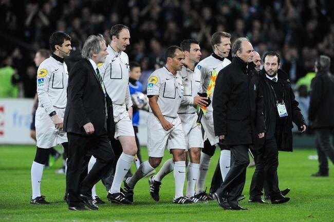 L'ASSE dédramatise les incidents et l'interruption du match