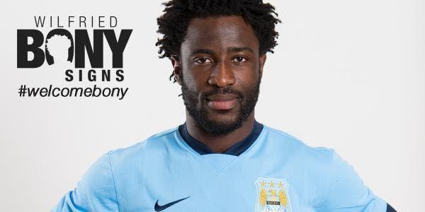 Manchester City confirme la signature de Bony