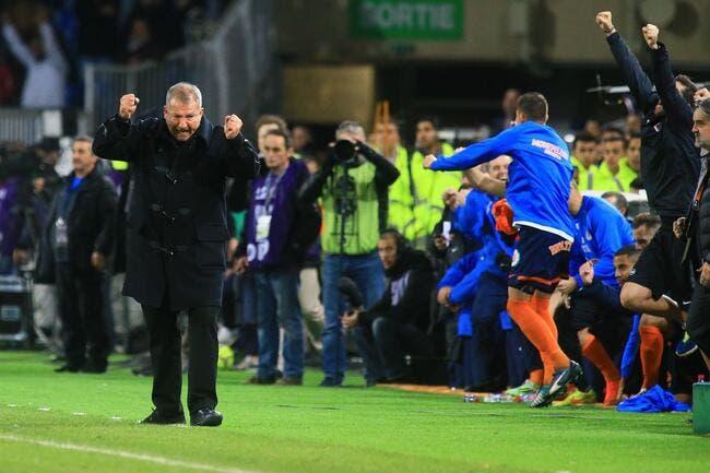 Courbis parti pour jouer les prolongations à Montpellier