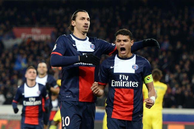 Le PSG a retrouvé les vrais Ibrahimovic et Thiago Silva