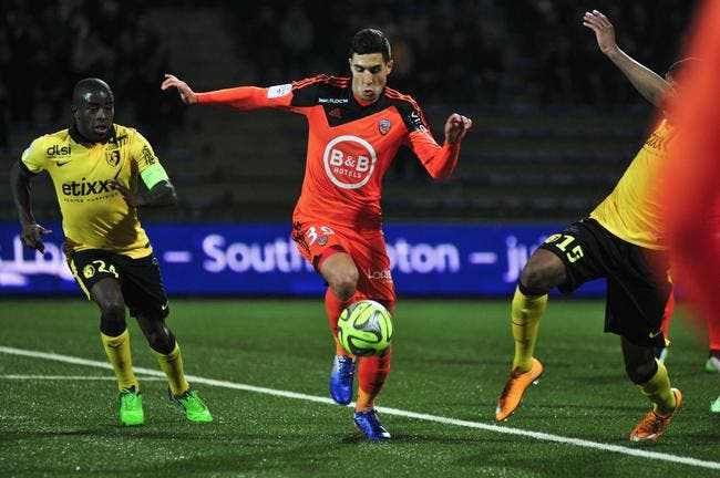 Lorient ne crache pas sur trois points