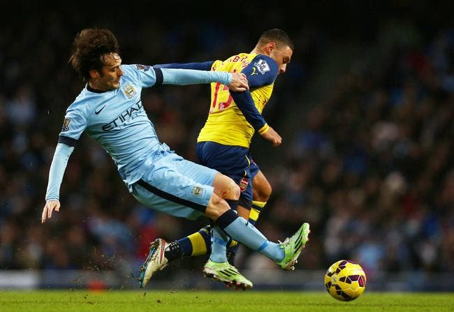 Man City - Arsenal : 0-2