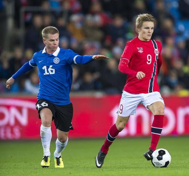 Odegaard, la pépite norvégienne sera entrainée par Zidane